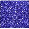 2 Cut Beads Luster Dark Blue 10/0